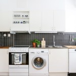Tvättmaskin i kök 3