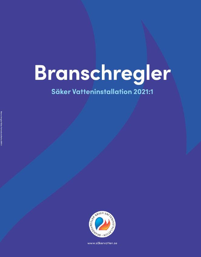 Branschregler Säker Vatteninstallation 2021:1